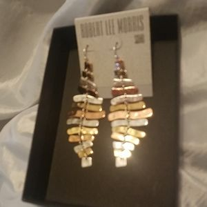 Robert Lee Morris Soho 3 toned metal NWT
